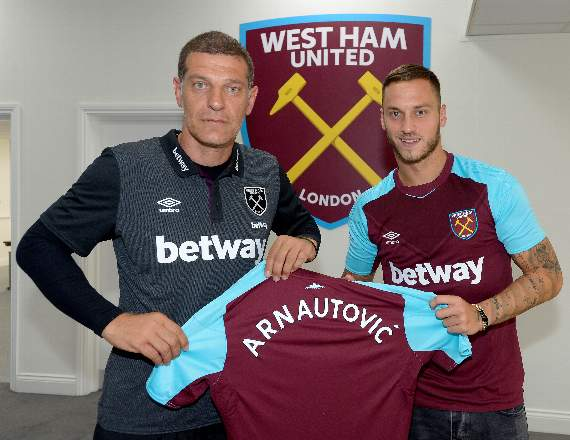 West Ham United: Hammer land Arnautovic for club record fee